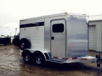 Bumper Pull Horse Trailers - BPSC 7