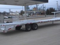 Gooseneck Heavy Equipment Flatbed Trailers - GNF 78A