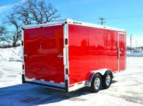 Bumper Pull Automotive All Aluminum Enclosed Trailers - BPA 60B