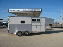 Gooseneck Horse Trailers -  GNEH 20A