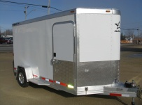 Bumper Pull Enclosed Cargo Trailers - BPDF 55