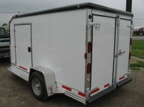 Bumper Pull Enclosed Cargo Trailers - BPDF 52A