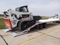 Gooseneck Heavy Equipment Flatbed Trailers - GNF 75