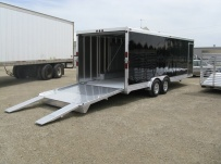 Bumper Pull Automotive All Aluminum Enclosed Trailers - BPA 22