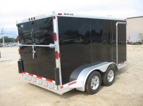 Bumper Pull Automotive All Aluminum Enclosed Trailers - BPA 43A