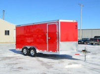 Bumper Pull Automotive All Aluminum Enclosed Trailers - BPA 60A