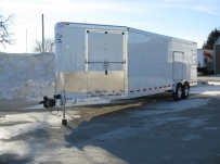 Bumper Pull Automotive All Aluminum Enclosed Trailers - BPA 36C