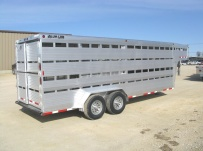 Commercial Double Deck Livestock Trailers - GNDD 33A