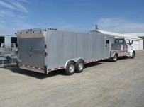 Gooseneck Automotive All Aluminum Enclosed Trailers - GNA 19A