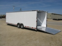 Bumper Pull Automotive All Aluminum Enclosed Trailers - BPA 38B