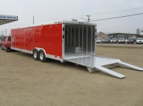 Gooseneck Automotive All Aluminum Enclosed Trailers - GNA 25A