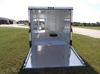 Bumper Pull Automotive All Aluminum Enclosed Trailers - BPA 56A