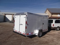 Bumper Pull Enclosed Cargo Trailers - BPDF 61A