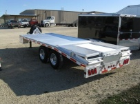 Bumper Pull Heavy Equipment Flatbed Trailers - BPF 8