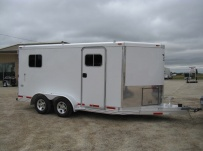 Bumper Pull Automotive All Aluminum Enclosed Trailers - BPA 48A