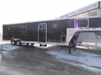 Gooseneck Enclosed Cargo Trailers - GNDF 44