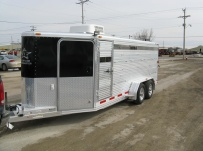 Showmaster Low Profile Small Livestock Trailers - BPLP4V 26
