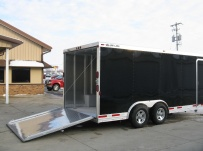 Bumper Pull Automotive All Aluminum Enclosed Trailers - BPA 51B
