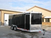 Bumper Pull Automotive All Aluminum Enclosed Trailers - BPA 51A