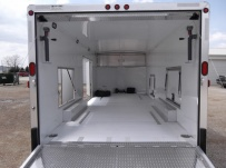 Bumper Pull Automotive All Aluminum Enclosed Trailers - BPA 58B