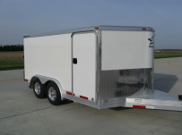 Bumper Pull Automotive All Aluminum Enclosed Trailers - BPA 40A