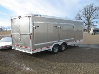 Bumper Pull Automotive All Aluminum Enclosed Trailers - BPA 52B