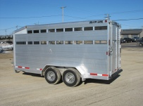 Commercial Bumper Pull Livestock Trailers - BPL 19