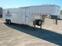 Gooseneck Automotive All Aluminum Enclosed Trailers - GNA 17B