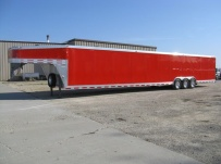 Gooseneck Enclosed Cargo Trailers - GNDF 25