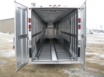 Gooseneck Enclosed Cargo Trailers - GNDF 31A