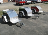 Enclosed Motorcycle Trailer Pull Behind Tote - CYCLE 29