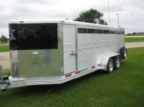 Showmaster Low Profile Small Livestock Trailers - BPLPSM 24A