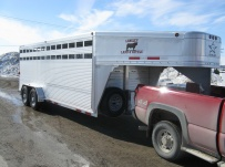 Commercial Gooseneck Livestock Trailers - GNL 61A