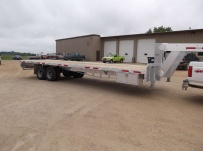 Gooseneck Heavy Equipment Flatbed Trailers - GNF 63