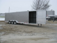 Gooseneck Enclosed Cargo Trailers - GNDF 31B