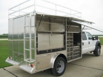 Enclosed Models Service Truck Bodies - SBE 36A