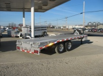 Bumper Pull Heavy Equipment Flatbed Trailers - BPF 9B