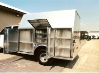 Enclosed Models Service Truck Bodies - SBE 10B