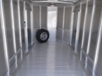 Bumper Pull Automotive All Aluminum Enclosed Trailers - BPA 54A
