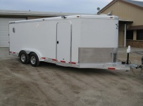 Bumper Pull Automotive All Aluminum Enclosed Trailers - BPA 49A