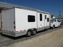 Gooseneck Enclosed Cargo Trailers - GNDF 22A