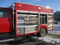 Rescue Body Aluminum Truck Bodies - RFB 61A