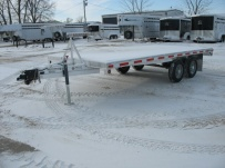 Bumper Pull Heavy Equipment Flatbed Trailers -  BPF 10