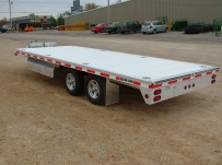Bumper Pull Heavy Equipment Flatbed Trailers - BPF 6A