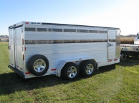 Showmaster Low Profile Small Livestock Trailers - BPLPSM 20A