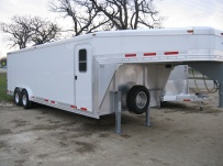 Gooseneck Enclosed Cargo Trailers - GNDF 45