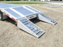 Gooseneck Heavy Equipment Flatbed Trailers - GNF 52