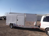 Bumper Pull Enclosed Cargo Trailers - BPDF 61B