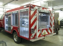 Rescue Body Aluminum Truck Bodies - RFB 75