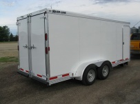 Bumper Pull Enclosed Cargo Trailers - BPDF 53C